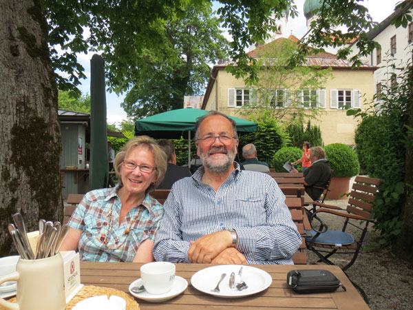 Coffee and Kuchen at Kloster Seeon