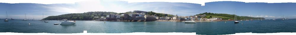 360 deg. view Cawsand & Kingsand 13th May 2009